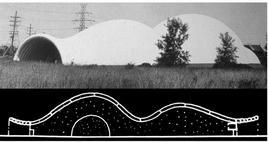 Padiglione espositivo della Commissione per l'energia atomica USA. V. Lundy, F. Severud