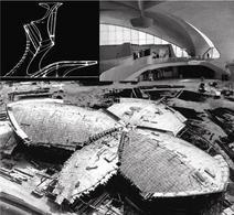 Il terminal Twa di Idlewild, New York. Architetto Eero Saarinen, ingegneri Amman & Whitney