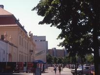 Il Museo  Ebraico  di D. Libeskind (Berlino, 1993-1995) e il Museo di Berlino  sulla Lindenstrasse.