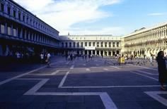 Quinte monumentali, realizzate  nell'arco di tre secoli a Piazza S.  Marco a  Venezia.