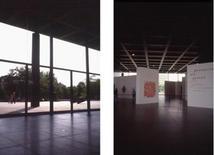 Lo spazio interno si offre all'uso, privo di vincoli.
