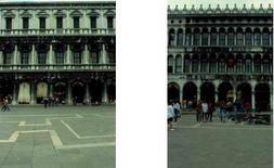 Procuratie Nuove e Procuratie Vecchie  a Piazza San Marco a  Venezia.