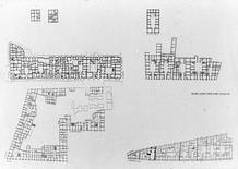 Confronto dimensionale tra isolati del centro storico di Napoli.