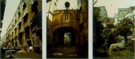 Palazzo con cortile, con corpo basso che chiude il lato opposto all'androne, di ingresso al giardino, in via G. Piazzi.