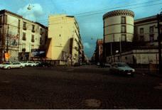 L'area di progetto tra via Foria, via Cesare Rosaroll e vico Colonne.