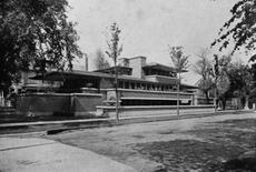 F. L. Wright, Robie House, Chicago, 1908-1910 (foto da Wikipedia).