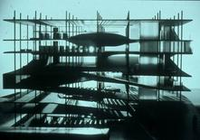 OMA, Bibliothéque Jussieu, Paris, 1992, progetto di concorso, foto di Hans Werlemann, dal sito Oma. Image courtesy of Hans Werlemann (Hectic Pictures).