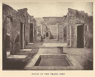 Casa del Poeta Tragico a Pompei (foto di G. Sommer da Wikipedia).
