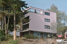 Le Corbusier, Casa tipo Citrohan al Weissenhofsiedlung, 1927 (foto di Shaqspeare da Wikimedia Commons).