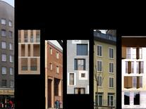 Siza, Moneo, Fregna Polito, Zucchi, Segú, Gambardella Ottieri. Partiti architettonici.