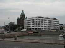 L'edificio e la Cattedrale ortodossa (foto di kalevkevad da Flickr).