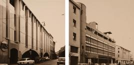 Fronti diversi sulle due strade: l'unità non è un valore (foto di Umberto Ferro, 1980).