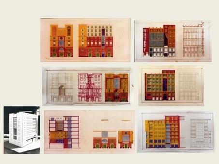 Sperimentazione progettuale sull'impianto e la figura.
