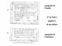 Edizione corretta di Giuseppe Camodeca apparsa nella rivista Zeitschrift für Papyrologie und Epigraphik del 2006.