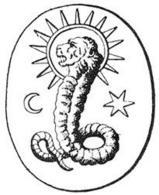 Allegoria gnostica del demiurgo