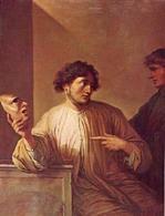 Salvator Rosa, Allegoria della menzogna, 1640-45 (Galleria degli Uffizi). Fonte: Salvatorrosaunion.blogspot.com