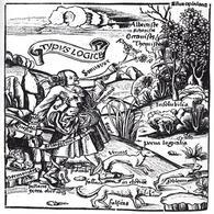 G. Reisch, Margarita Philosophica, Typus Logicae (1503-08). Fonte: Wikipedia