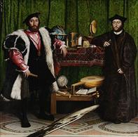 H. Holbein il Giovane, Ambasciatori (1533), National Gallery, Londra. Fonte: Wikipedia