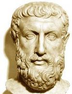 Parmenide. Fonte: Wikipedia