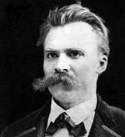 F. Nietzsche (foto del 1875 ca.). Fonte: Wikipedia