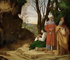 Giorgione, I tre filosofi (1504-05). Kunsthistorische Museum, Vienna. Fonte: Wikipedia