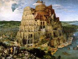 P. Bruegel, Torre di Babele (1563), Kunsthistorisches Museum, Vienna. Fonte: Wikipedia