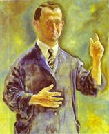 G. Grosz, Autoritratto (1927), Galerie Nierendorf Berlin. Fonte: Abcgalery.com