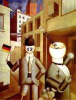 G. Grosz, Republicanische Automaten (1920). G. Grosz, Republicanische Automaten (1920). Fonte: Wikipedia