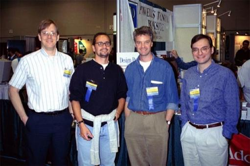 Gamma, Helm, Johnson, Vlissides at OOPSLA 1994