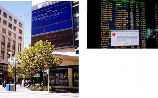 Luogo: Melbourne, Australia, all'angolo fra Swanston Street e Bourke Street. Data: 13 febbraio 2000. Fonte: zem