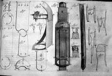Microscopio di Antony van Leeuwenhoek. Fonte: Wikipedia.