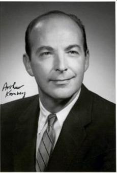 Arthur Kornberg, Nobel nel 1959 insieme allo spagnolo Severo Ochoa. Fonte: Wikipedia.