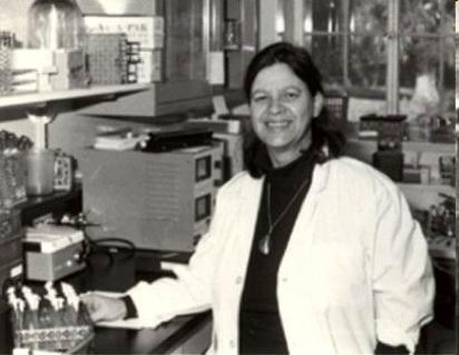 Esther Miriam Zimmer Lederberg (1922-2006). Fonte: wikipedia