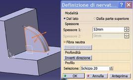 Fig. 9.41: Finestra del comando Nervatura