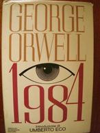 """Una delle edizioni italiane del romanzo """"1984″ di George Orwell, da cui deriva la metafora del """"Grande Fratello"""" (The Big Brother). Immagine da: Unilibro."""