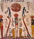 Graffiti egizi sulla tomba di Ramesse VI. Immagine da: Frammenti di Arte.