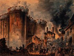 Esempio di dipinto: La presa della Bastiglia (1789; Fonte: Wikimedia)