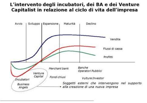 La neo-impresa nella sua fase di start-up può essere supportata da strumenti e strutture di carattere finanziario e non (elaborazione da F.Perrini, 1999).