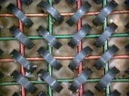 Esempio di parte di memoria a nuclei magnetici (it.wikipedia.org)