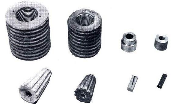 Utilizza fili (con cilindro e cono in cls. frettato) o trefoli (blocco di ancoraggio in acciaio)