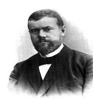 Max Weber. Fonte: Max Weber