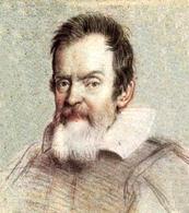 Galileo Galilei. Fonte: Wikimedia Commons
