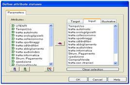Selezione delle variabili con software Tanagra
