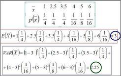 Calcolo del valore atteso e della varianza attesa della v.c. media campionaria