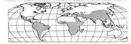 Diffusione dell'agricoltura di sussistenza (area tratteggiata). Fonte: Formica, 1999, p. 136.
