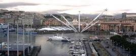 Il porto do Genova. Immagine da: Geomondadori