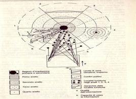 Modello generale dell'organizzazione dello spazio turistico.