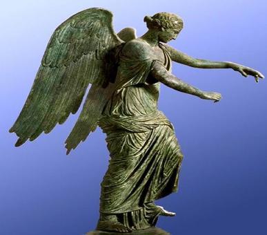 Statua della Vittoria. Fonte: Bilbiotheca Augustana