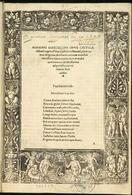 Opus castigatissimum. Fonte unicaen