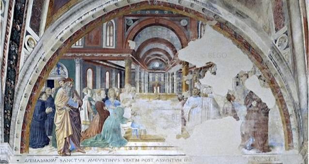 Chiesa di Sant'Agostino, San Gimignano.